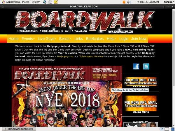 Boardwalkbar.com Free Entry