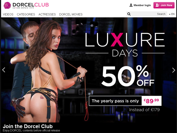 Dorcel Club Discount Deal Link