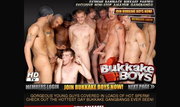 Free Bukkake Boys Trial Account