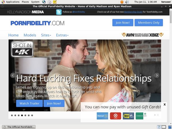 Free Pornfidelity Membership Trial