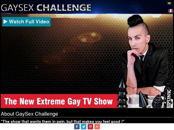 Gay Sex Challenge Discount Deal
