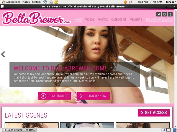 Limited Bellabrewer.com Promo