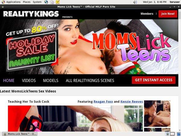Free Premium Moms Lick Teens Accounts