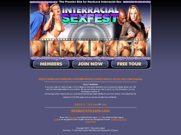Interracial Sex Fest Movie
