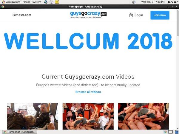 How To Get Free Guysgocrazy.com