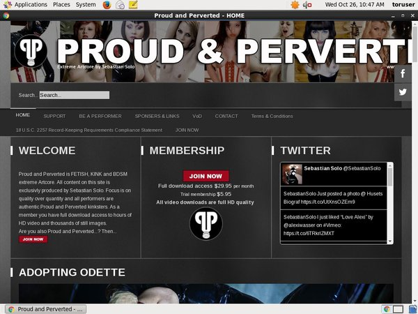 Join Pround And Perverted