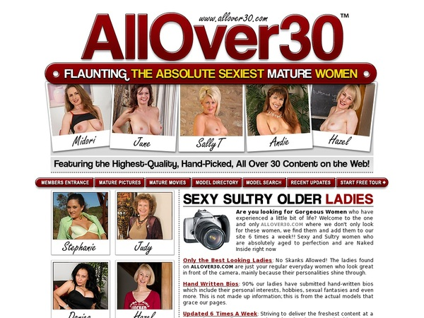 Free Allover30.com Login