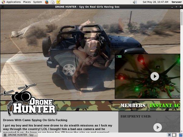 Drone Hunter Ccbill.com