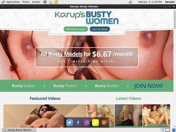 Discount Pass Karups Busty