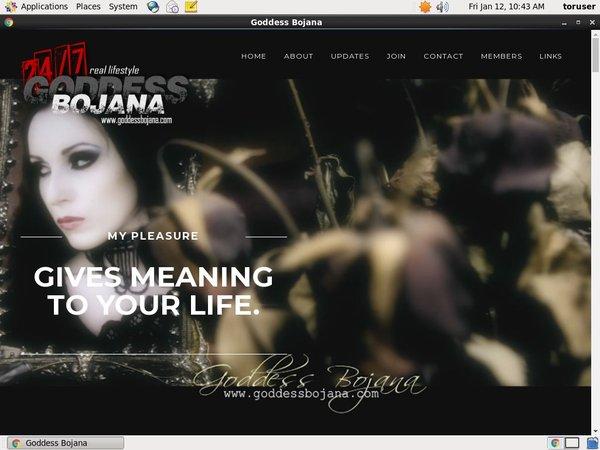 Goddess Bojana Discount Free