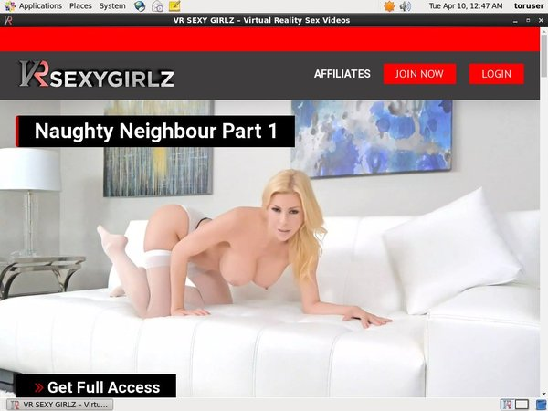 Join VR Sexy Girlz Paypal