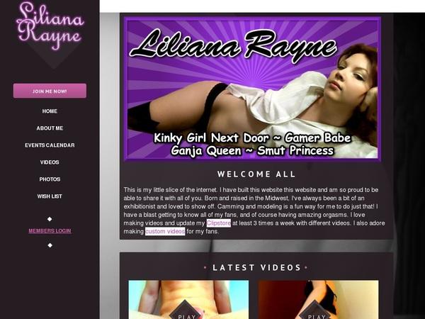 Special Lilianarayne.modelcentro.com Trial