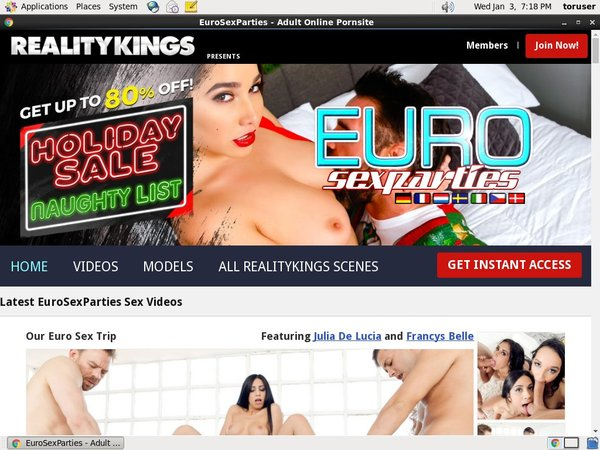 Euro Sex Parties Page