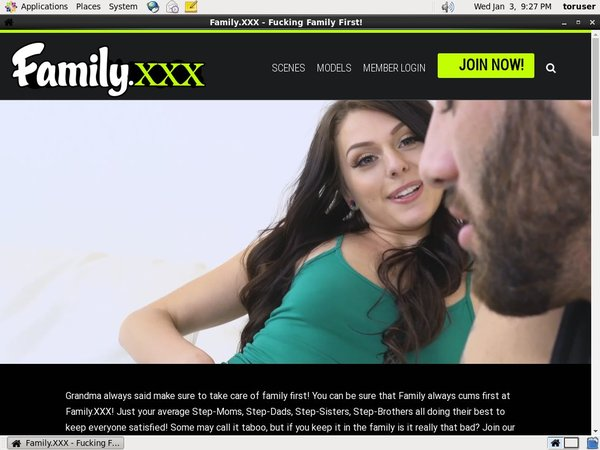 Familyxxx Subscription Deal