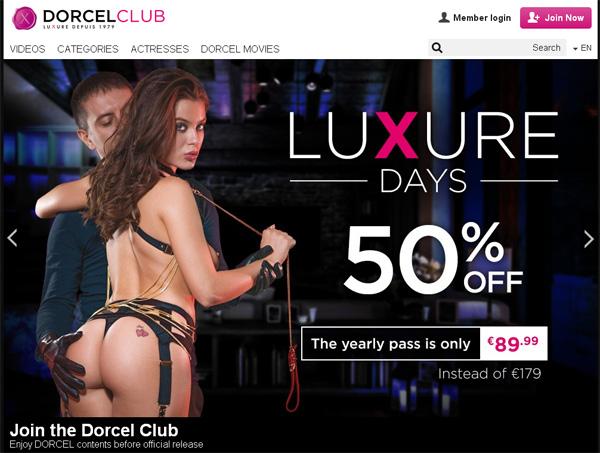 Promo Dorcel Club Free Trial