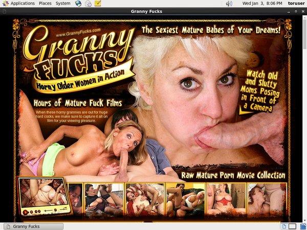 Grannyfucks Free Porn