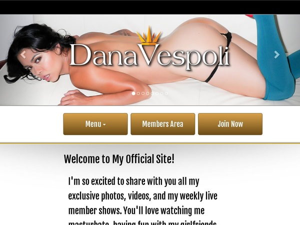 Sign Up To Dana Vespoli