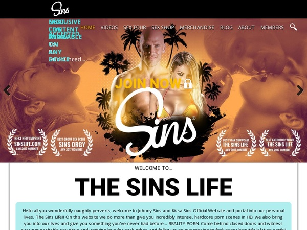 Sinslife Premium Account Login