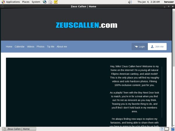 Zeuscallmodelcentro.com Trial Membership