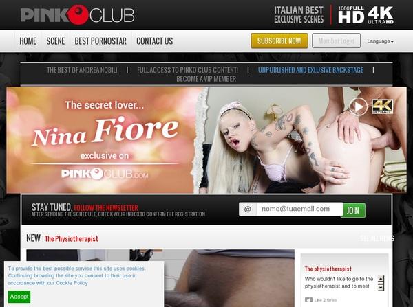 Pinkoclub.com Discount Deal Link