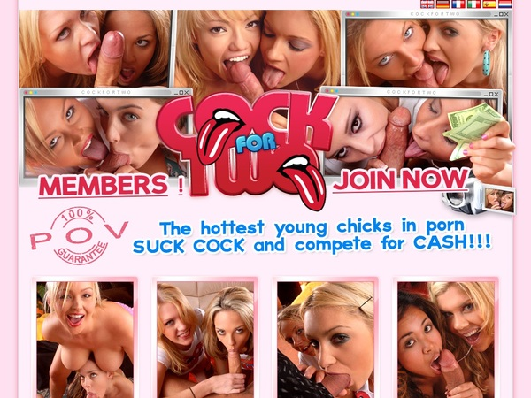 Cock For Two Discount Signup