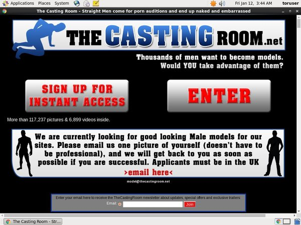 Free The Casting Room Membership Discount