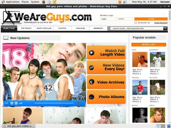 We Are Guys Live Cams