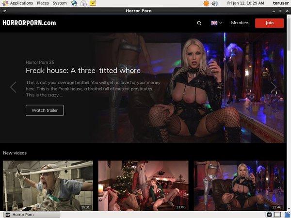 Horror Porn Desktop