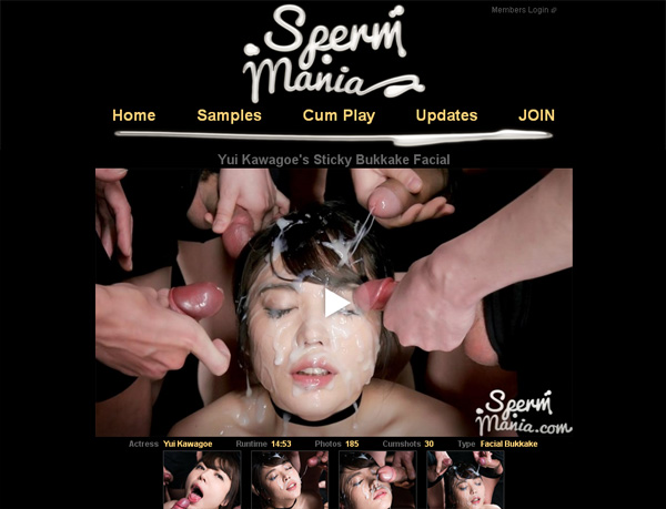 Sperm Mania With Sliiing