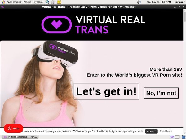 Make Virtualrealtrans.com Account