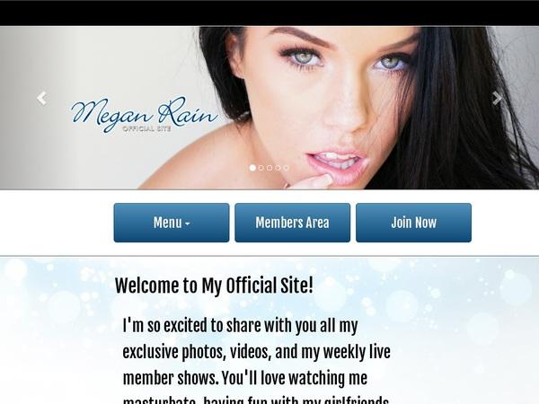 New Free Meganrain Accounts