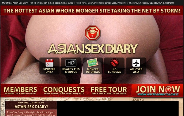 Asiansexdiary Parola D'ordine Gratuito