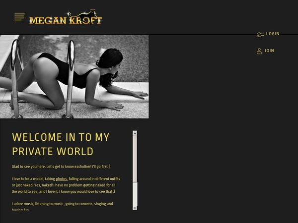 Join MeganKroft For Free