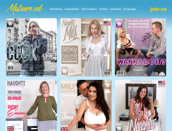 Mature.nl Women Love