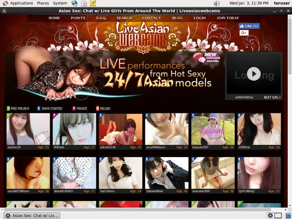 Mobile Liveasianwebcams Account