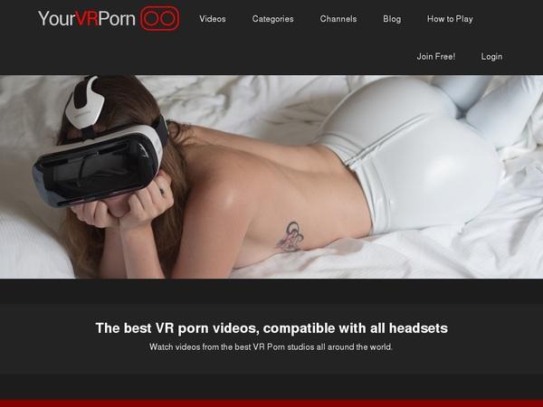 Yourvrporn.com Coupon Discount