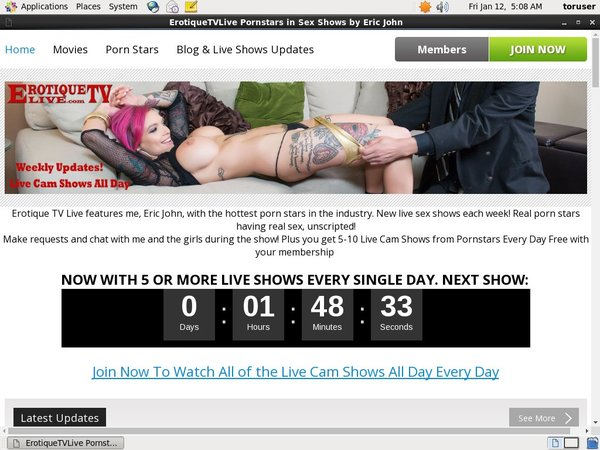 Erotique TV Free Trial Link