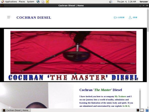 Cochran  Diesel Paypal