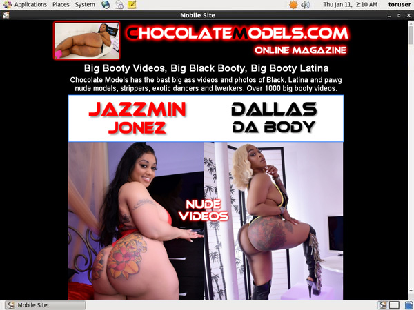 Free Chocolate Models Login