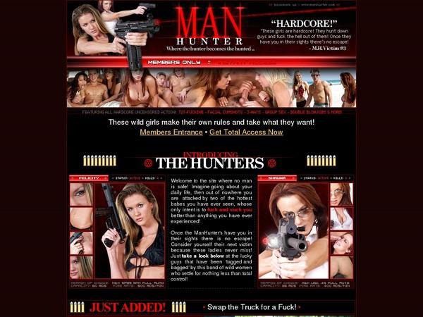 Manhunter Sign Up Form