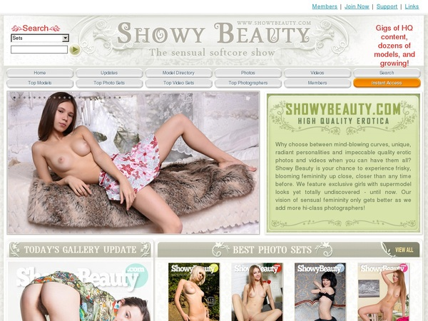 Showybeauty Model List