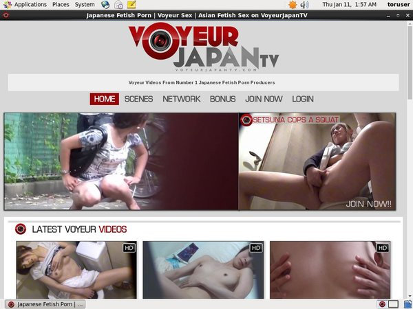 New Voyeur Japan TV Accounts