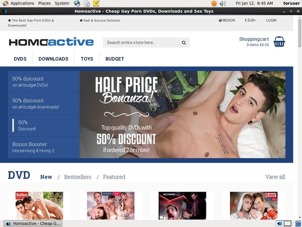 Free Homoactive Porn