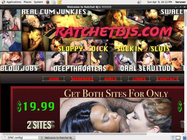 How To Access Ratchet BJs