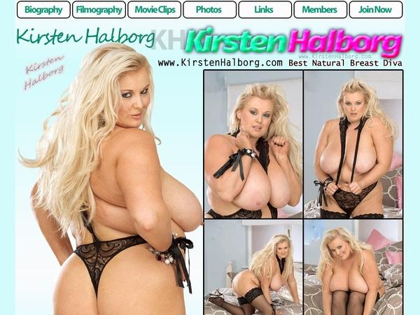Kirstenhalborg.com Paysite