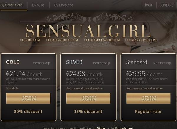 Sensual Girl Discount Rate