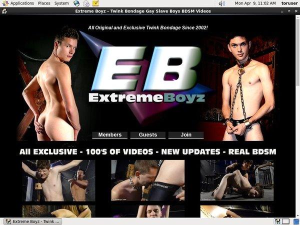 Extreme Boyz Account Online