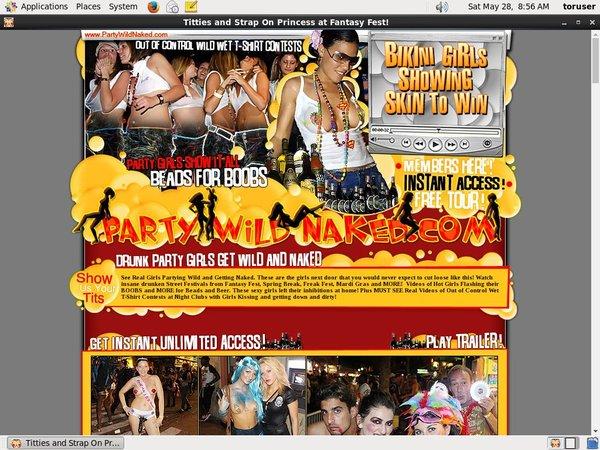 Party Wild Naked Wnu.com