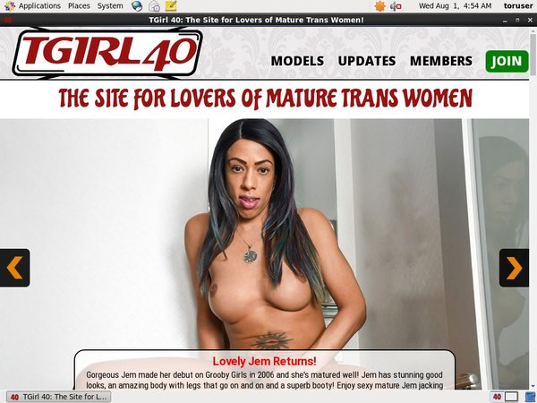 TGirl 40 Trial Offers