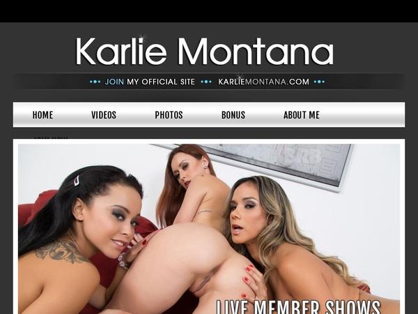 Karlie Montana With IBAN / BIC